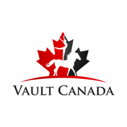 Vault Canada logo displayed on the Stablebuzz Stable Management website