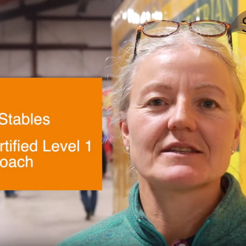 stable owner speaking on how to grow the equestrian industry