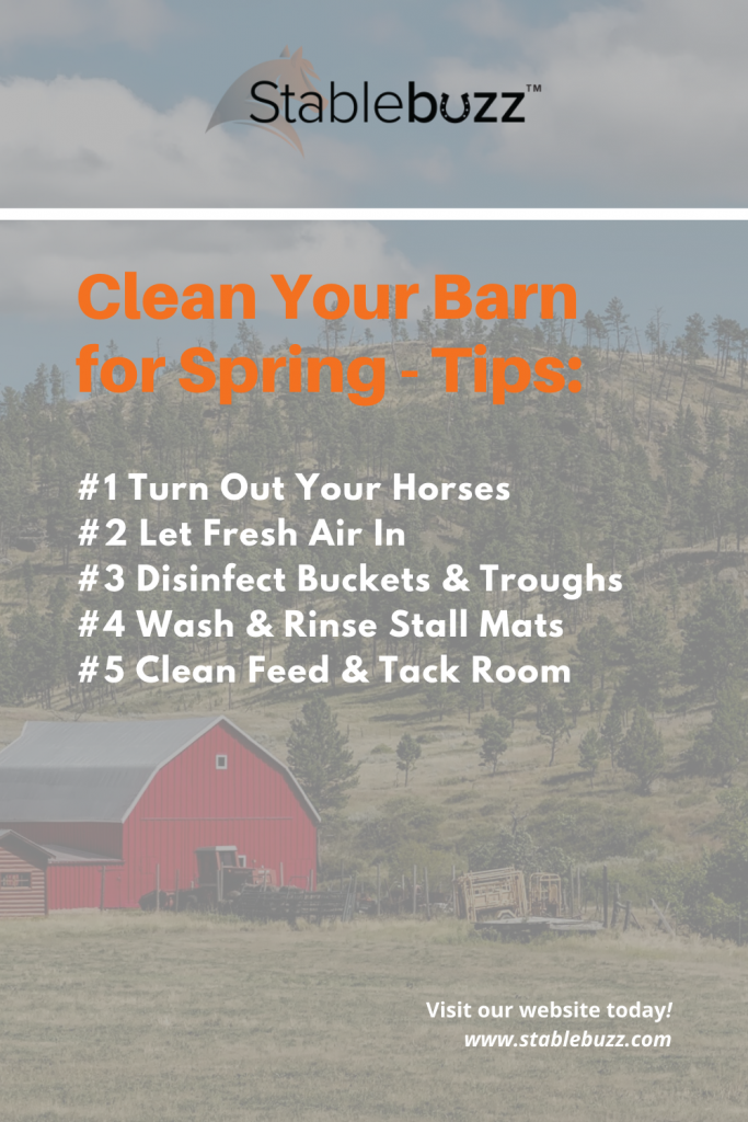 Clean your barn for spring - tips