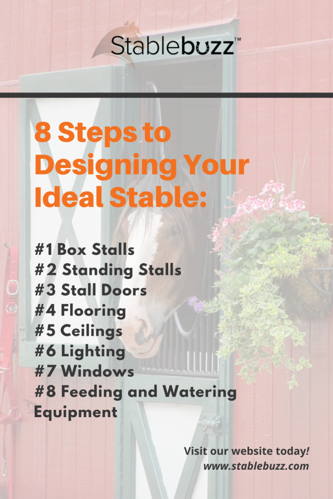 8 Steps to designing your ideal stable
